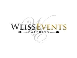 Weiss Events logo design