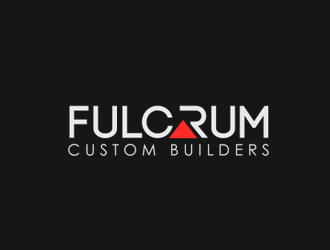 Fulcrum Custom Builders logo design