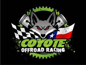 This is for an offroad race team name Coyote Offroad Racing logo design