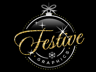 Festive Graphics logo design