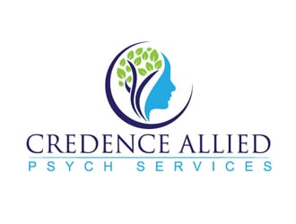Credence Allied Psych Services logo design