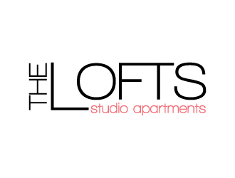 The Lofts logo design