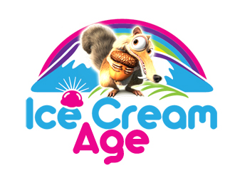 Ice Cream Age logo design