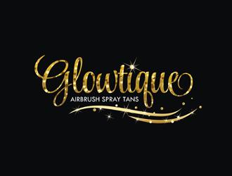Glowtique logo design