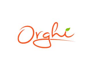 Orghi logo design
