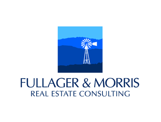 Fullager & Morris Real Estate Consulting logo design