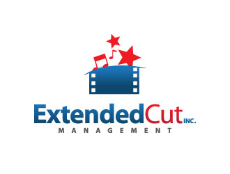 Extended Cut, Inc. logo design