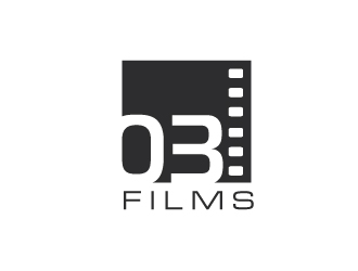 03 Films logo design