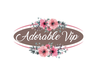 Adorable VIP logo design