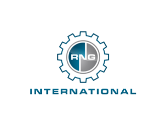 RNG International logo design winner