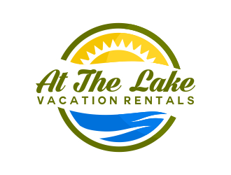 At The Lake Vacation Rentals logo design