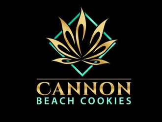 Cannon Beach Cookies logo design