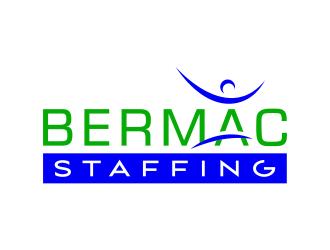 Bermac Staffing logo design