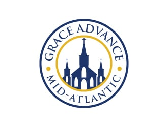 Grace Advance Mid-Atlantic  (GAMA) logo design