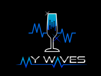 MyWaves logo design winner