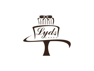 Lyds Cakes  logo design