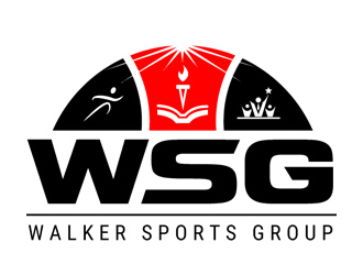 Walker Sports Group or WSG logo design