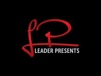 LEADER PRESENTS logo design