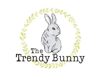 The Trendy Bunny  logo design