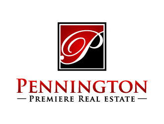 Pennington Premiere Real estate logo design