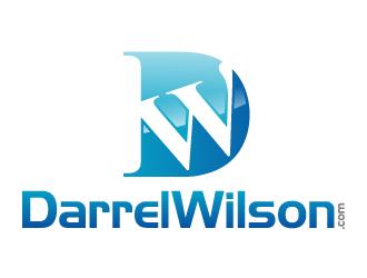 DarrelWilson.com logo design