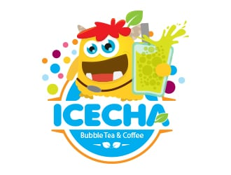 ICECHA logo design