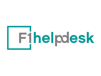 F1 Helpdesk logo design