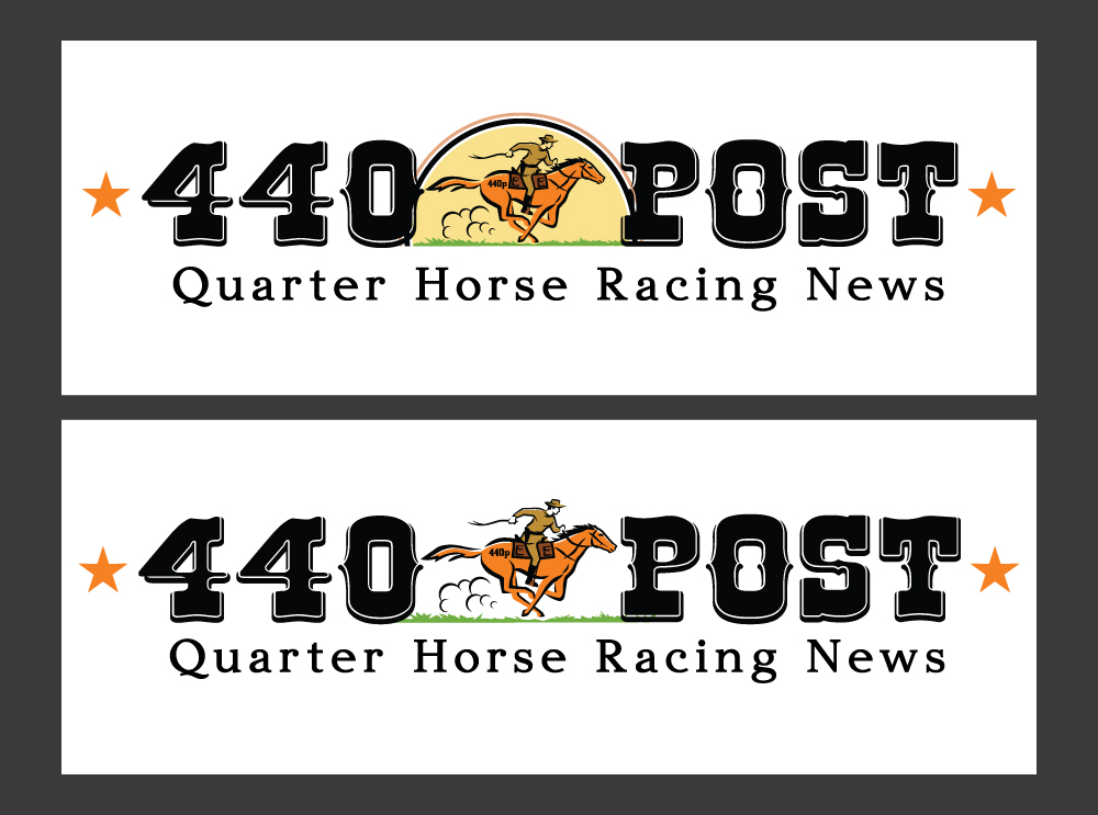 440 Post logo design