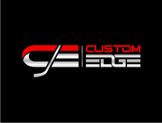 CUSTOME EDGE logo design