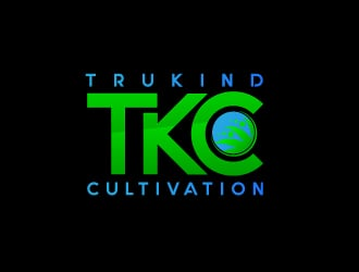 TruKind Cultivation logo design