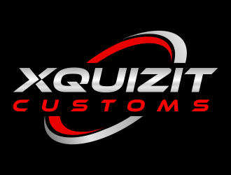 XQUIZIT CUSTOMS logo design