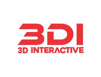3D Interactive STHLM But I want the short 3DI logo design