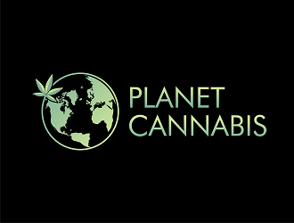 Planet Cannabis logo design