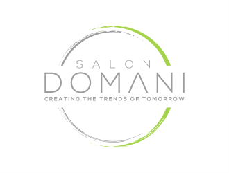 Salon Domani logo design