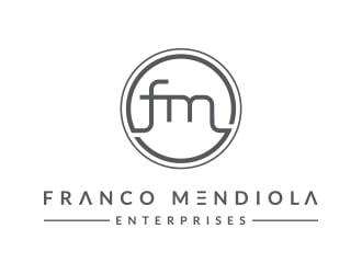 Franco Mendiola Enterprises logo design