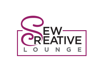 Sew Creative Lounge logo design