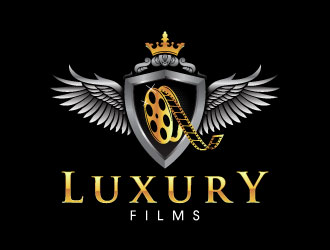 Luxury Films logo design