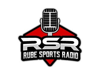 Rube Sports Radio logo design