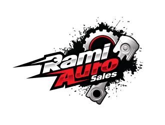 Rami Auto Sales logo design