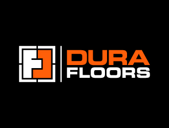 Dura FLOORS logo design