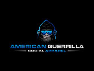 American Guerrilla - Social Apparel logo design