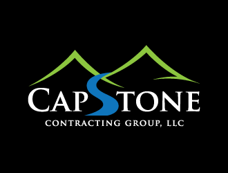 CapStone Contracting Group, LLC logo design