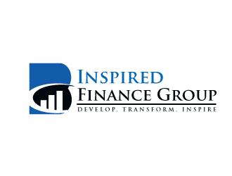 B Inspired Finance Group logo design