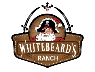 Whitebeards Ranch logo design