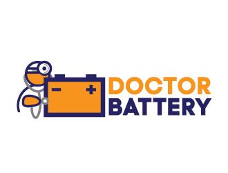 Doctor Battery  logo design