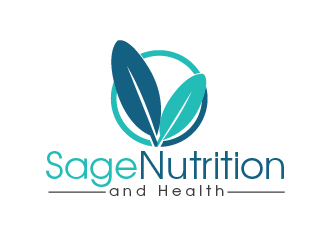 Sage Nutrition and Health logo design