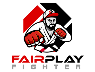 Fair Play Fighter logo design