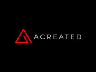 Acreated logo design