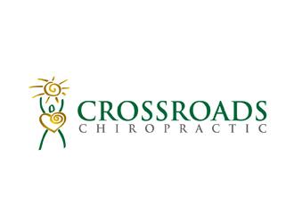 Crossroads Chiropractic logo design