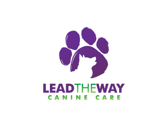 Lead The Way Canine Care logo design
